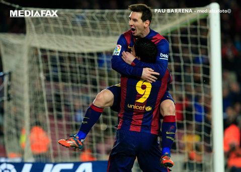 """Messi, la golul 400 în tricoul Barcelonei! Catalanii au marcat în primul şi ultimul minut al meciului cu Valencia. """"Liliecii"""" au ratat un penalty în minutul 10: Barcelona - Valencia 2-0"""