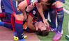 Imaginea care face în aceste momente înconjurul lumii. Ce s-a întâmplat cu Messi la finalul meciului cu Valencia. FOTO