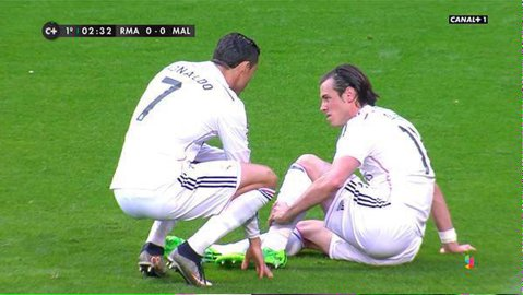 Real câştigă cu Malaga, dar are mari probleme pentru meciul cu Atletico. Bale şi Modric au ieşit accidentaţi şi au şanse mari să rateze returul sfertului Ligii Campionilor