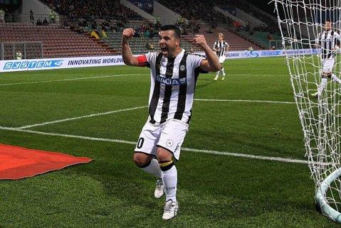 Di Natale va pleca de la Udinese la finalul sezonului. Unde ar putea ajunge atacantul