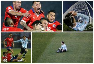 Copa Dramatica! Pentru prima oară în aproape un secol, Chile câştigă competiţia, după o finală incredibilă în faţa Argentinei. Messi, trădat de coechipieri: Higuain şi Banega au ratat penalty-urile decisive