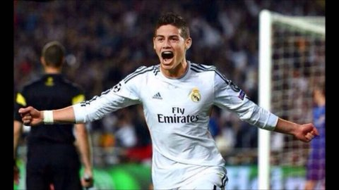 Real Madrid, victorie la scor de neprezentare împotriva Interului lui Popa. James Rodriguez a reuşit golul meciului
