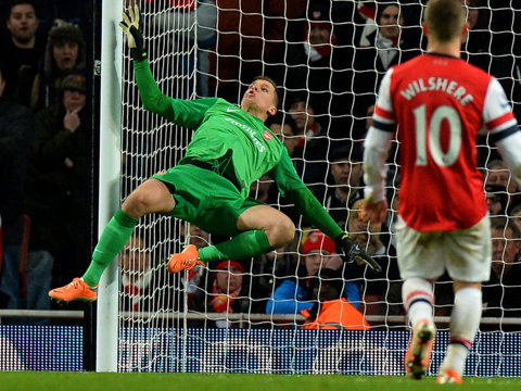 """""""Smoking gun"""" e bye-bye! Arsenal l-a împrumutat pe Szczesny la AS Roma"""