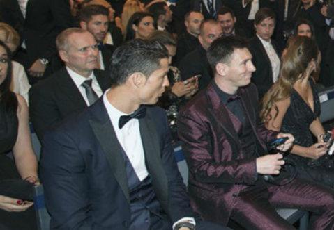 Ronaldo, umilit de Messi la premiul pentru cel mai bun jucător din Europa. Ce a descoperit portughezul după ce rivalul său a primit trofeul