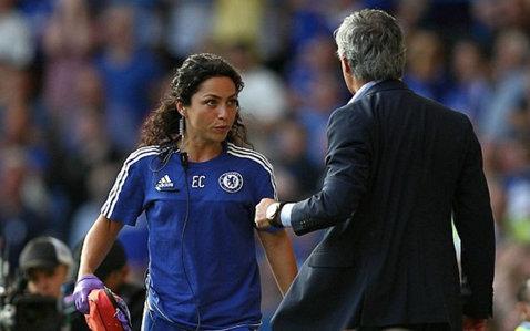 Eva Carneriro, prima apariţie după scandalul cu Jose Mourinho. FOTO | Cum a fost surprinsă