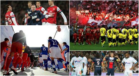 Ziua derby-urilor în Europa! Everton - Liverpool 0-0! Urmează Arsenal - United, Bayern - Dortmund sau Atletico - Real Madrid