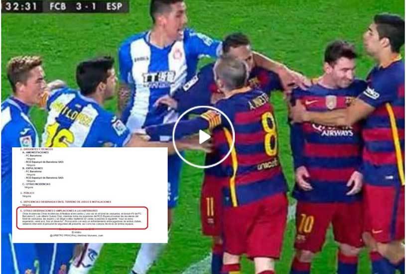 """Scandal după Barça - Espanyol! Suarez s-a descătuşat la vestiare: """"Sunteţi nişte gunoaie!"""" Noi detalii oferite de catalani: Mascherano şi Pau au declanşat conflictul. Reacţia lui Gâlcă după meci"""