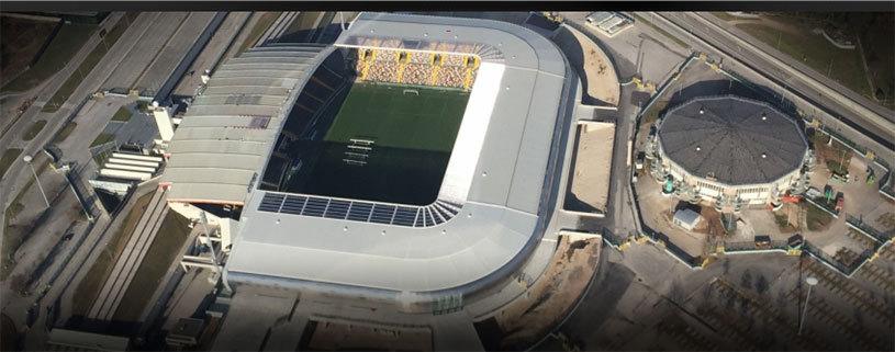 Dacia Arena, cel mai nou stadion din... Italia! Constructorul român intră în istorie: e primul brand auto ce dă numele unei arene de fotbal în peninsulă