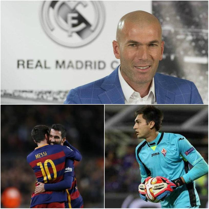 Zidane a debutat cu stil! Real Madrid - Deportivo 5-0: Bale şi Benzema i-au oferit startul perfect antrenorului francez.Hattrick pentru Messi: Barcelona - Granada 4-0. Tătăruşanu şi Radu Ştefan, titulari în Fiorentina - Lazio 1-3