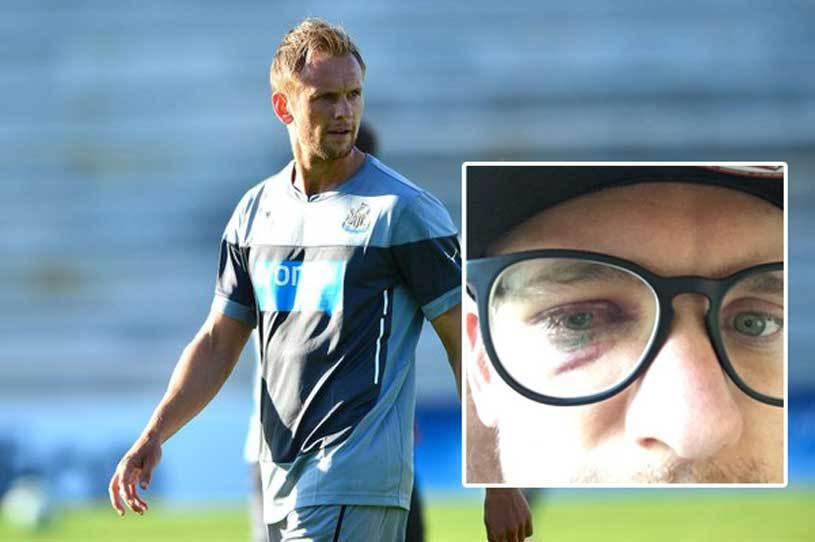 Accidentare bizară suferită de Siem de Jong în timpul antrenamentului! Starul lui Newcastle s-a temut că şi-ar putea pierde vederea
