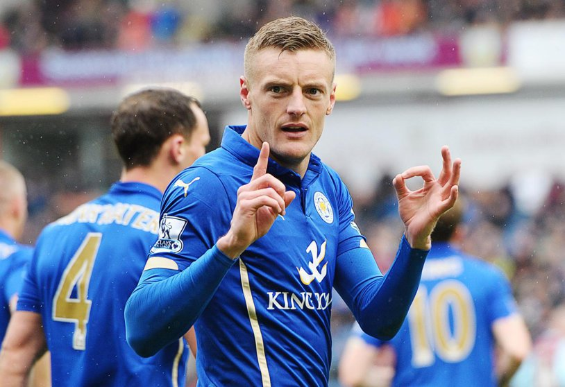 Marile cluburi trebuie să mai aştepte! Jamie Vardy şi-a prelungit contractul cu Leicester până în 2019