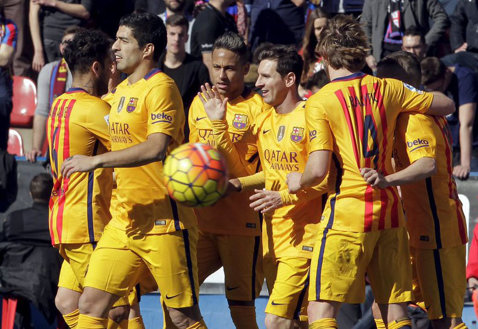 Barça îşi continuă marşul spre titlu! Suarez, din nou pe lista marcatorilor. Levante - Barcelona 0-2