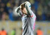 Schimbarea lui Arlauskis a fost forţată! Portarul lui Espanyol s-a accidentat şi va lipsi o lună de pe teren