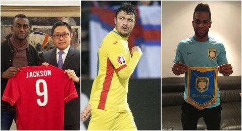 """Budescu n-a prins """"primul 11"""" :) Cei mai buni jucători transferaţi în China în această iarnă. Lavezzi, ultimul pe listă"""