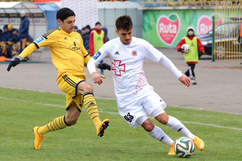 Florentin Matei a debutat pentru HNK Rijeka, locul 1 în campionatul Croaţiei