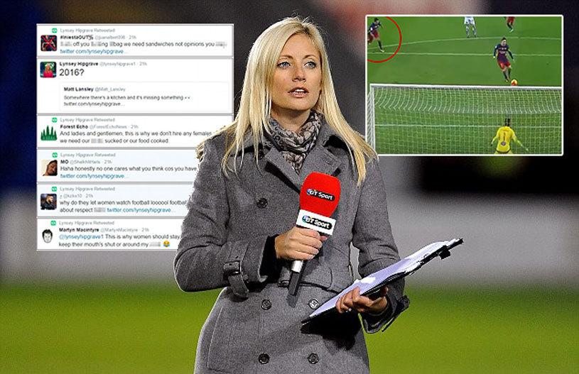 """""""De asta femeile trebuie să stea la cratiţă!"""" Abuzuri incredibile la adresa acestei prezentatoare după ce şi-a spus părerea despre penalty-ul bătut de Messi! FOTO"""