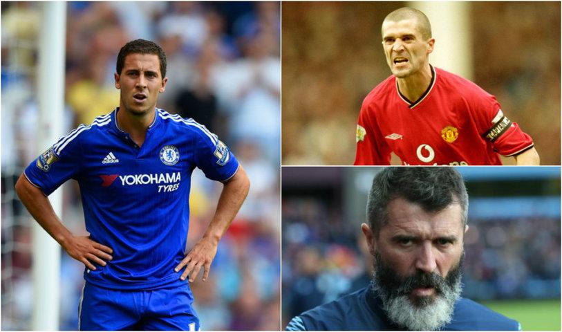 """Roy Keane, din nou memorabil! L-a făcut praf pe Hazard, în direct: """"E ca un copil răsfăţat! Dacă eram coechipierul lui..."""""""
