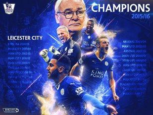 Miracolul s-a produs! Leicester e noua campioană a Angliei!  VIDEO | Imagini superbe: reacţia jucătorilor după fluierul final de la Chelsea - Tottenham. Suporterii au început deja petrecerea!