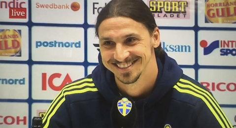 """VIDEO Zlatan a început să râdă când a fost întrebat de United! """"Mourinho e omul capabil să-i readucă în top!"""" Răspunsul dat de Ibra"""