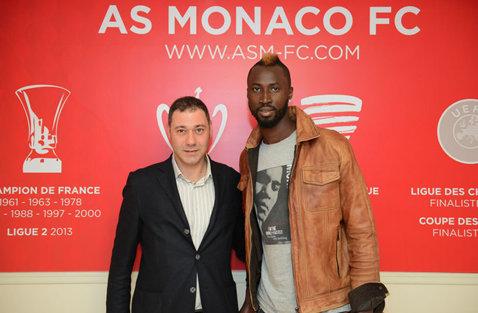 Lacina Traore ar putea pleca de la AS Monaco. Unde este dorit fostul atacant al lui CFR Cluj