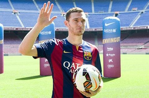 Luciano Spalletti şi-l doreşte pe fundaşul belgian Thomas Vermaelen de la Barcelona