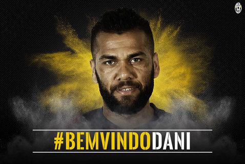 """Dani Alves, prezentat oficial la Juventus: """"Am venit aici să câştig Liga Campionilor!"""""""