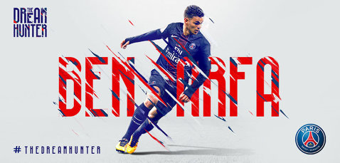 Start la transferuri. Paris Saint-Germain l-a transferat pe Hatem Ben Arfa