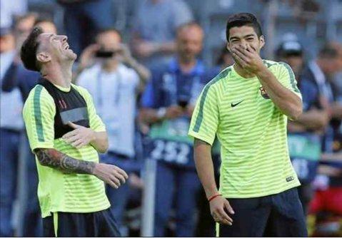 VIDEO | Messi şi Suarez reloaded. Ce a ieşit, după ce doi fotbalişti din Peru au încercat să copieze penalty-ul executat de starurile blaugrana