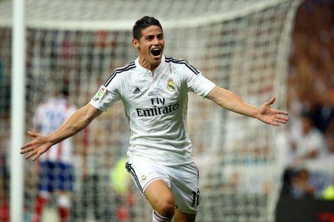 """James l-a convins pe Zidane: """"Da, va rămâne la Real Madrid!"""""""