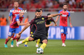 Rămâne Pep fără goleador în duelul cu Mourinho? Sergio Aguero poate primi trei etape de suspendare după ce a lovit un adversar cu cotul în faţă