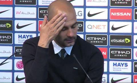 """""""What the fuck!?"""" Moment INCREDIBIL cu Guardiola. Întrebarea care l-a făcut pe Pep să ofteze prelung: """"Nu cred asta, băieţi..."""""""