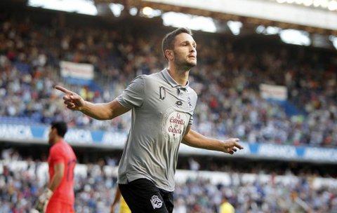 """Andone a egalat recordul lui Balint în Spania! Reacţia atacantului român după """"dubla"""" cu Real Sociedad"""