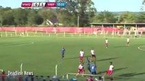 VIDEO TERIFIANT | A marcat un gol superb, apoi s-a prăbuşit pe teren! Cazul seamănă izbitor cu ceea ce i s-a întâmplat lui Ekeng