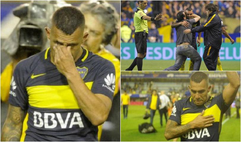 Oferta a fost mult prea bună! VIDEO | Carlos Tevez şi-a luat adio în lacrimi de la Boca Juniors! Argentinianul va deveni cel mai bine plătit fotbalist din lume