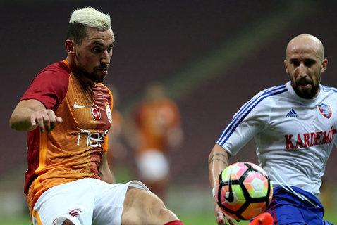 Surpriza etapei în Turcia! Karabukspor - Galatasaray 2-1. Latovlevici a dat o pasă de gol. Tănase şi Găman au fost şi ei integralişti. Bogdan Stancu a debutat la Bursaspor