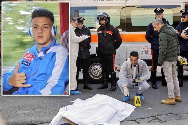 Tragedie la Napoli. Un fost jucător a fost împuşcat în plină stradă şi a murit pe loc