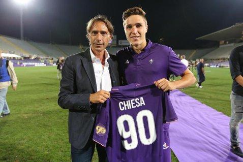 """Are 19 ani, i-a luat faţa lui Ianis la Fiorentina şi valorează deja 2 milioane de euro. Tatăl său e faimos în Italia şi a învins România lui Boloni, la Bucureşti. """"E cel mai bun lucru pe care îl puteţi vedea la un fotbalist profesionist"""""""