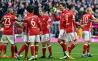 """Arsenal a scăpat uşor de pe Allianz Arena! Bayern Munchen a PULVERIZAT-o pe Hamburg. La pauză era """"doar"""" 3-0. Ce s-a întâmplat până la final"""