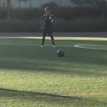 VIDEO   Aşa tată, aşa fiu! Gol superb înscris de fiul lui Cristiano Ronaldo, la numai 6 ani. Cum a tras din lovitură liberă