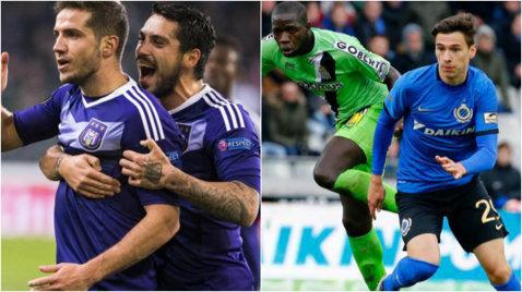 Se vede titlul în Belgia! Anderlecht - Club Brugge 2-0. Stanciu şi Chipciu au un avans uriaş faţă de Rotariu, în campionat
