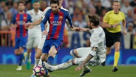 Decizie foarte blândă luată de Federaţia Spaniolă de Fotbal! Ce pedeapsă a primit Sergio Ramos după faultul criminal asupra lui Messi