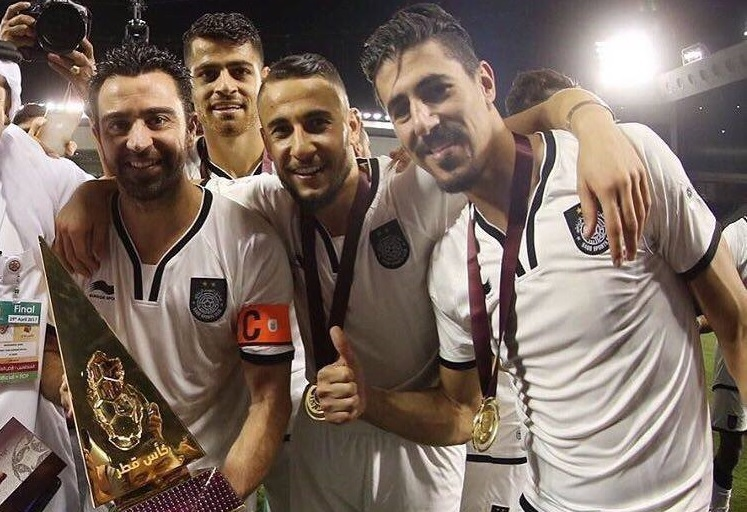 "Jugurtha Countries is the HERO of the season in Qatar! VIDEO | Ex-FCSB-ist scored the second goal ""gold"" in less than a month, from the pass of Xavi"