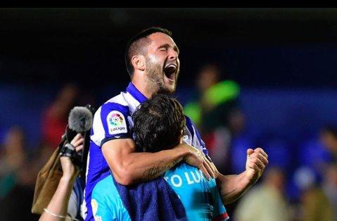 """""""Dublă"""" Florin Andone în ultima partidă din La Liga. Care este recordul stabilit de atacantul lui Deportivo La Coruna în urma acestei reuşite"""