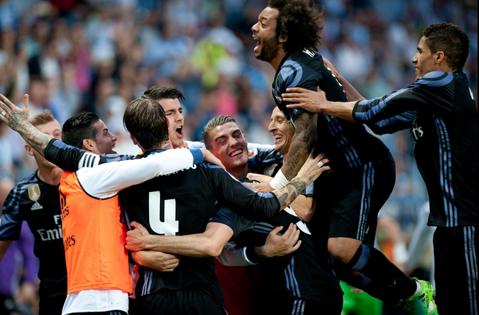 Zero suspans! Real Madrid câştigă titlul cu numărul 33, primul după o pauză de 5 ani! Barcelona a fost condusă cu 2-0, a întors rezultatul, dar nu a mai contat