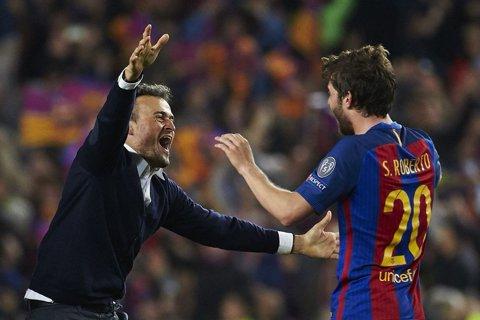 """""""Mulţumim, Mister""""! Mesajele emoţionante prin care jucătorii Barcelonei şi-au luat la revedere de la Luis Enrique"""