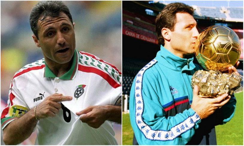 """""""E numărul unu, fără echivoc!"""" Hristo Stoichkov a ales: cine e cel mai bun fotbalist din lume"""