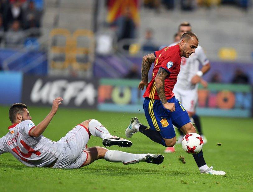 A impresionat în tricoul Spaniei la EURO şi acum a prins transferul carierei. Mijlocaşul de 21 de ani care a semnat pe patru ani cu o echipă din Premier League