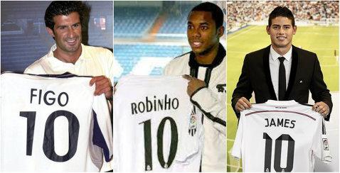 Surpriză la Real Madrid! Cine va purta numărul 10, rămas liber după plecarea lui James Rodriguez