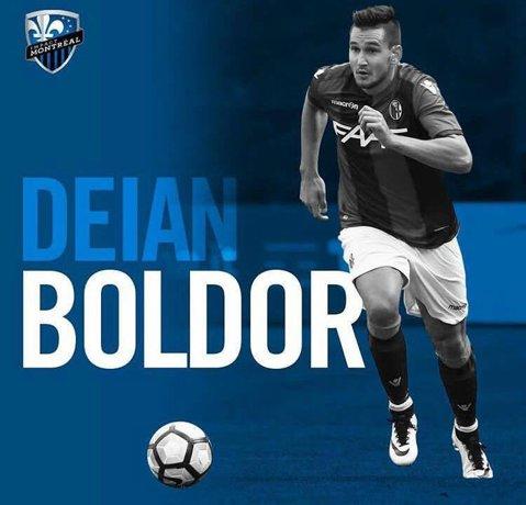 FOTO | Deian Boldor, prezentat oficial la Montreal Impact! Românul a fost împrumutat de Bologna pentru un sezon