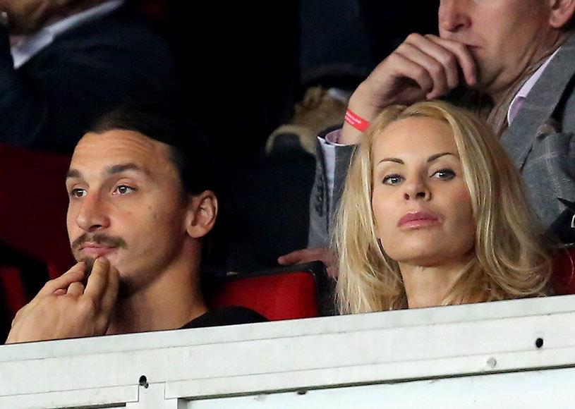 FOTO | El are 35 de ani, ea este cu 11 ani mai în vârstă. Cum arată iubita lui Ibrahimovic în costum de baie :)